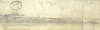 [Main entrance to Queen Charlotte Sound (?) 1848]