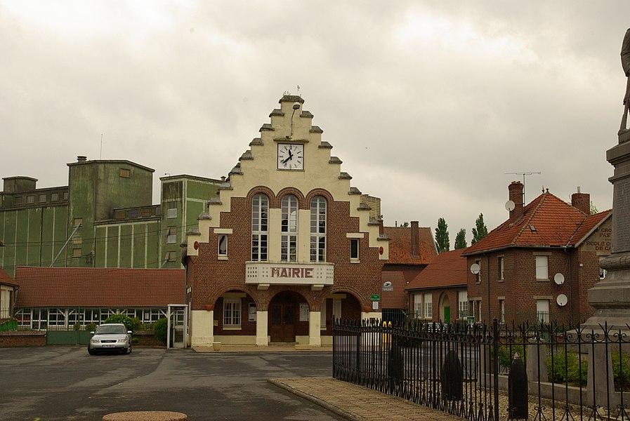 Gemeentehuis van Vendhuile