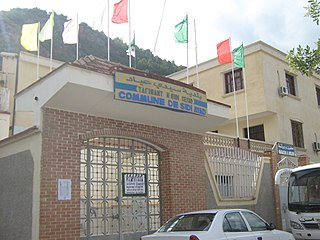 Sidi-Ayad Place in Béjaïa, Algeria