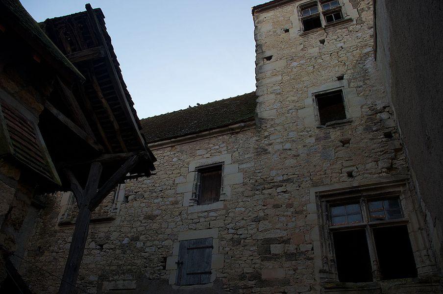 Restes de la maison Guiton à Varzy