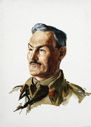 Douglas Graham (British Army officer) - A head and shoulder portrait of Major General Douglas Graham in uniform.