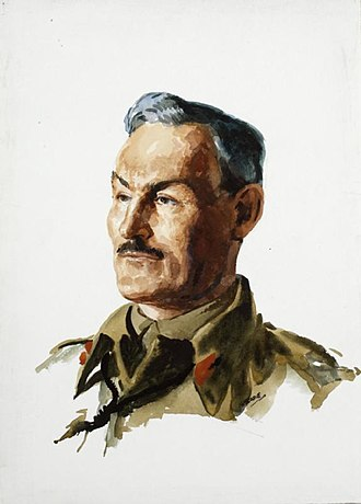 Douglas Graham (British Army officer) - A head and shoulder portrait of Major General Douglas Graham in uniform.