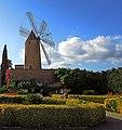 Majorcan Windmill , Nr. Santa Maria Del Cami , July 2012 - panoramio.jpg
