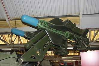 Malkara (missile) - Malkara on display at the Tank Museum, Bovington.