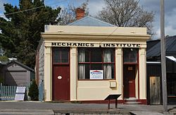 Photo of Malmsbury Mechanics' Institute