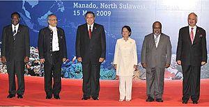 Coral Triangle Initiative - Image: Manado summit