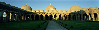 Mandu, Madhya Pradesh - The courtyard of the Jami Masjid.