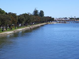 Mandurah City in Western Australia