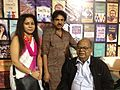 Mani Shankar Mukherjee with Poet Panchatapa and Poet Tapas Mahapatra 02.jpg