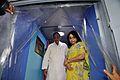 Manish Gupta and Arundhaty Ghosh Visit Digital India MSE Bus Interior - Inaugural Function - MSE Golden Jubilee Celebration - Science City - Kolkata 2015-11-17 4926.JPG