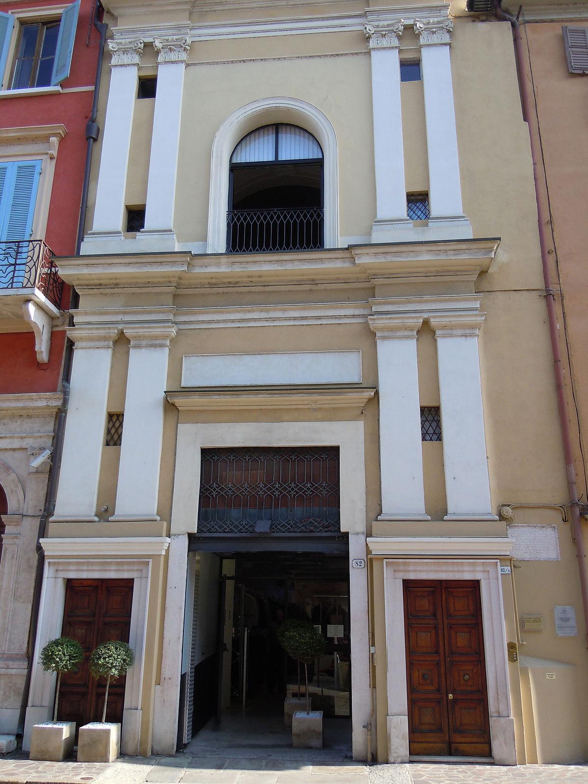 Oratorio di santa maria del melone wikipedia for Cambio destinazione d uso sblocca italia