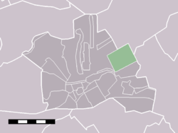 The statistical district of Gerverscop in the municipality of Woerden.
