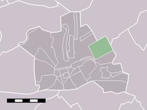 Gerverscop - Image: Map NL Woerden Gerverscop
