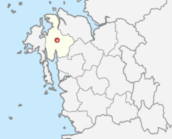 Location of Seosan