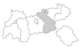 Location within Tyrol