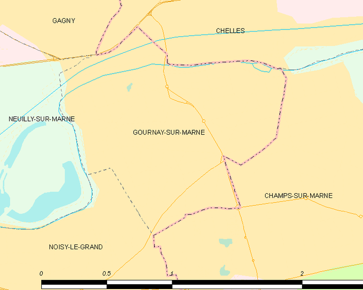 File:Map commune FR insee code 93033.png