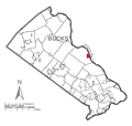 Map of New Hope, Bucks County, Pennsylvania Highlighted.png