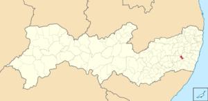 Localização de Cortês