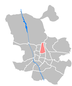 Location of Chamartín