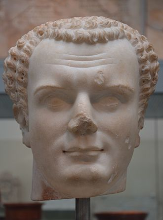 Titus - Marble bust of Titus from Utica (Tunisia), dated 79–81 AD, British Museum