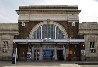 grade II listed train station in Margate, United kingdom