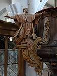 Marienstiftskirche Lich Kanzel Leo der Große 01.JPG