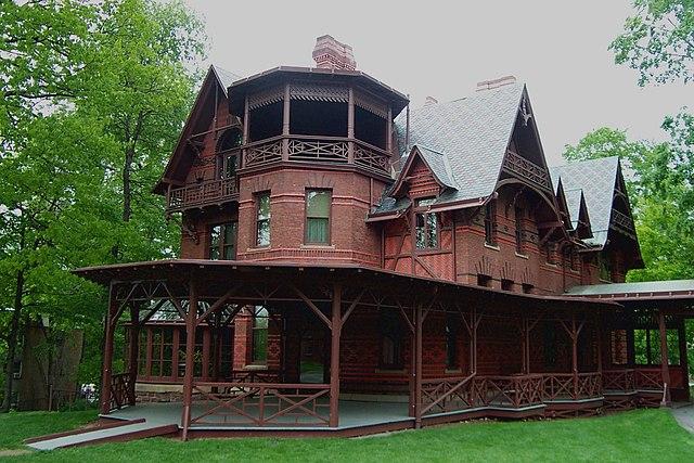 Дом-музей Марка Твена в Хартфорде