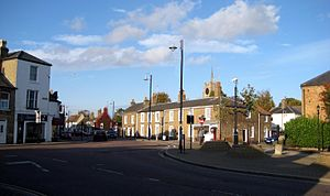 Chatteris - Image: Market Hill, Chatteris