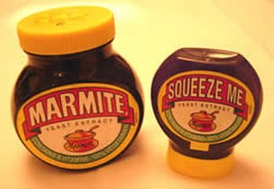 Marmite - The squeeze version of UK Marmite