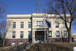 National Register of Historic Places listings in Marquette County, Wisconsin - Image: Marquette County Courthouse Feb 2012