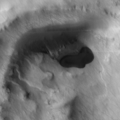 Mars Potentialy Lake (resized)- Multinational Research in the Southern Hemisphere (Released 22 April 2004).png