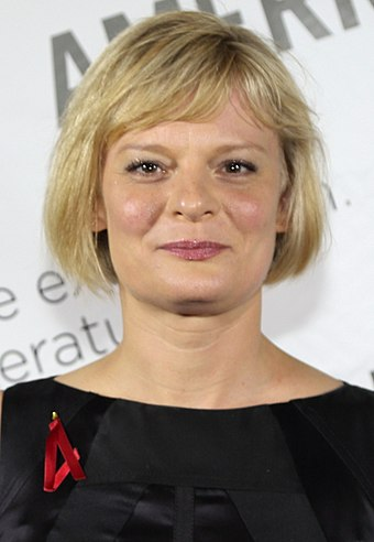 """Northwest Passage"" featured a guest appearance by actress Martha Plimpton Martha Plimpton 2015.jpg"
