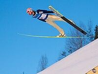 Martin Koch World Cup Ski flying Vikersund 2011.jpg