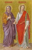 Mary Magdalene and Alexandra of Rome (St. Isaac's Cathedral).jpg