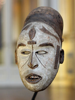 African art in Western collections - An Ibo mask at the Royal Museum of Central Africa.