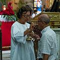 Mass in the Basilica of the Chinita.jpg