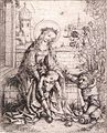 Master Of The Housebook - The Holy Family with the Rose-bush - WGA14565.jpg