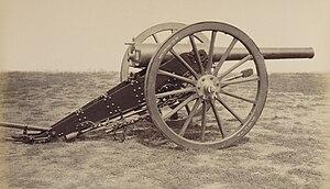 Lahitolle 95 mm cannon - Image: Matériel de l'artillerie p 29 canon de 95