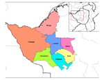 Districts of Matabeleland North