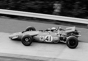 Four-wheel drive in Formula One - 1969: Jackie Stewart pictured with the MS84 at the Nürburgring