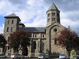 Mauriac, Cantal - Notre-Dame-des-Miracles basilica