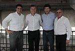 Mauricio Macri junto a los intedentes de San Isidro, Vicente Lopez y Malvinas Argentinas (8556890795).jpg