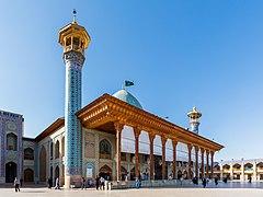 Mausoleo de Shah Cheragh, Shiraz, Irán, 2016-09-24, DD 32.jpg