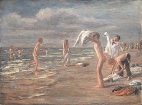 Max Liebermann Boys Bathing
