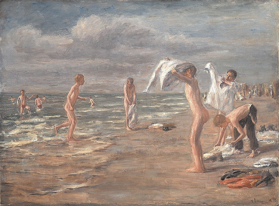 Max Liebermann Boys Bathing