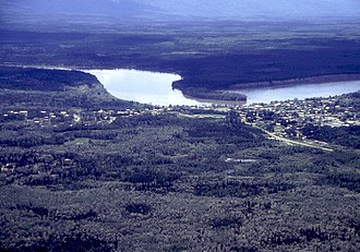 Mayo, Yukon - Mayo upon Stewart River, circa 2000