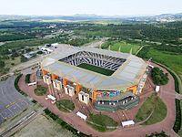 Mbombela Stadium Aerial View