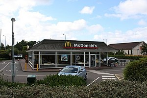 English: McDonald's Restaurant, Bermuda Park A...