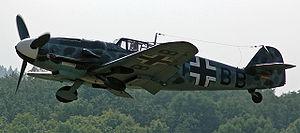 Le chasseur Messerschmitt Bf 109 G