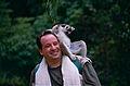 Me and a Ring-tailed Lemur (Lemur catta) (10293325846).jpg